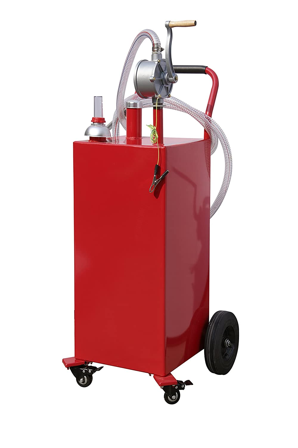 Tank Of Gas Too Much Prescription >> Arksen 35 Gallon Gas Caddy Fuel Tank Portable Storage Transfer Gasoline With Pump 35 Gallons Capacity Red