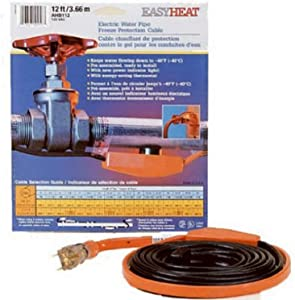 Easy Heat AHB-140 Cold Weather Valve and Pipe Heating Cable, 40-Feet