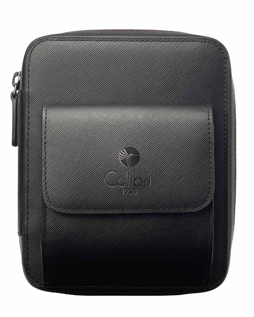 Explorer Leather Travel Humidor with Climate Seal Zipper in an Attractive Gift Box Warranty