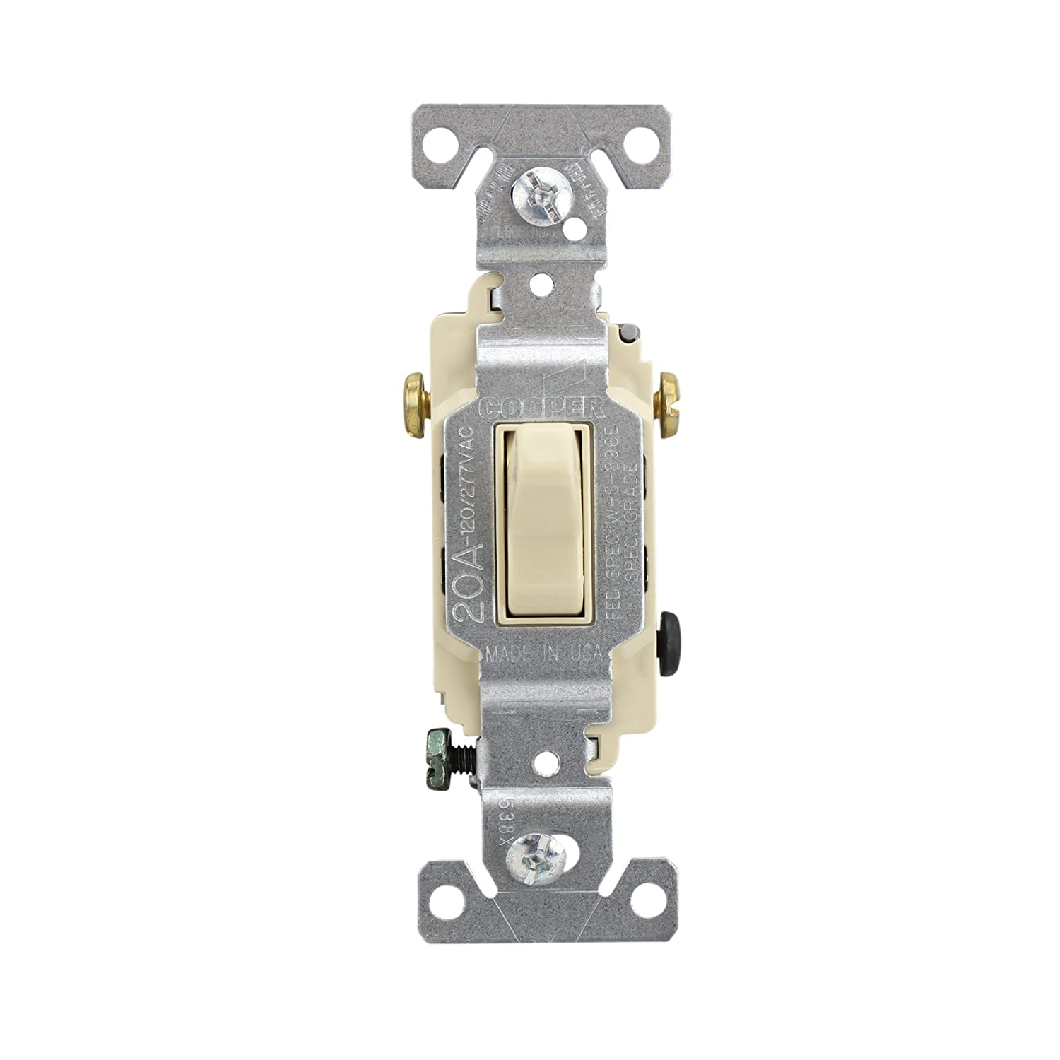 cooper wiring cs320v 3 way switches commerical spec grade ivory 10