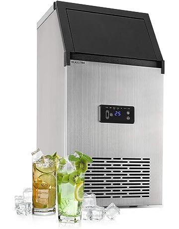 Klarstein • Powericer • Máquina industrial de cubitos de hielo • Sabor neutro • Acero Inoxidable