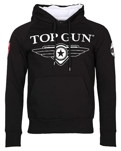 Top Gun Herren Sweatshirt Kapuzenpullover TG2019-1012