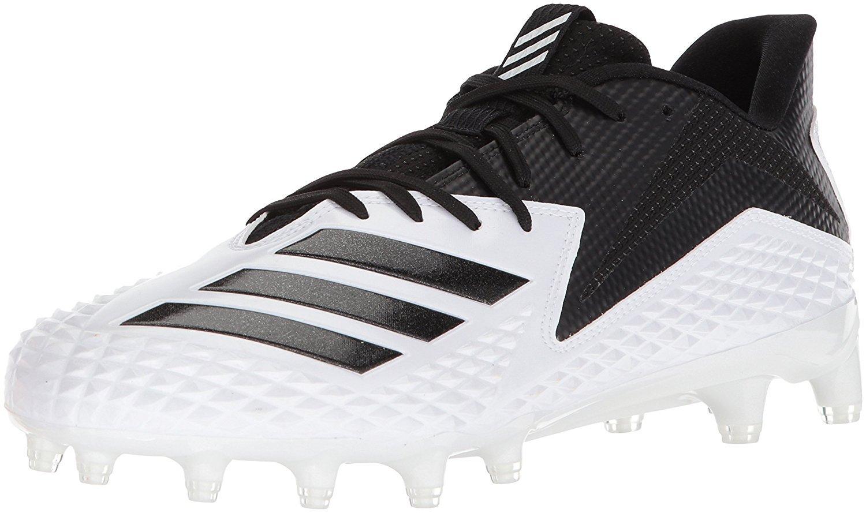 huge discount 175f7 850f8 Galleon - Adidas Mens Freak X Carbon Mid Football Shoe, WhiteBlackBlack,  13.5 M US