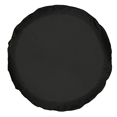 Moonet Universal Spare Tire Cover Black (15 inch): Automotive