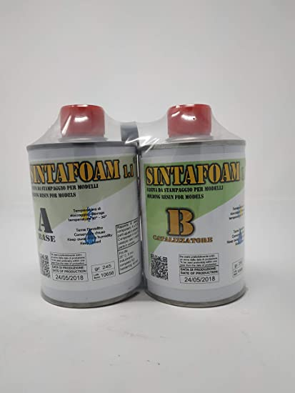 Sintafoam, resina de poliuretano para moldes, 500 g PROCHIMA A+B