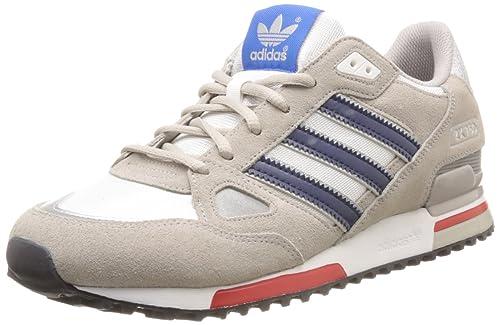 b156e8edd5 adidas Originals Zx750, Scarpe da Basket Uomo, Grau (Chrome/St Dark Slate  F13 / Running White FTW), 38 2/3 EU: Amazon.it: Scarpe e borse
