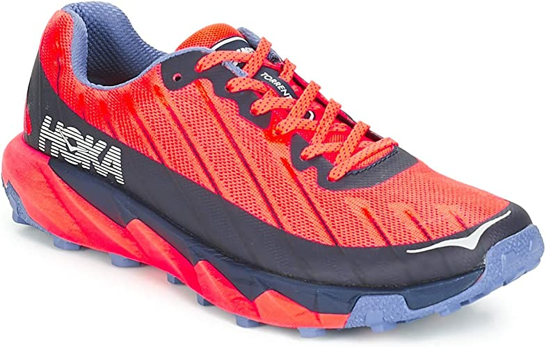 HOKA ONE One Torrent Deportivas Mujeres Rojo/Azul - 41 1/3 - Running/Trail: Amazon.es: Zapatos y complementos