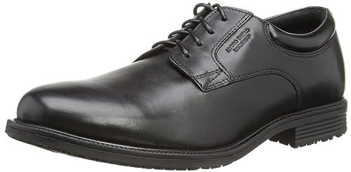 Rockport Men's Essential Detail Waterproof Plain Toe V76115 Black 7 UK,  40.5 EU, 7.5