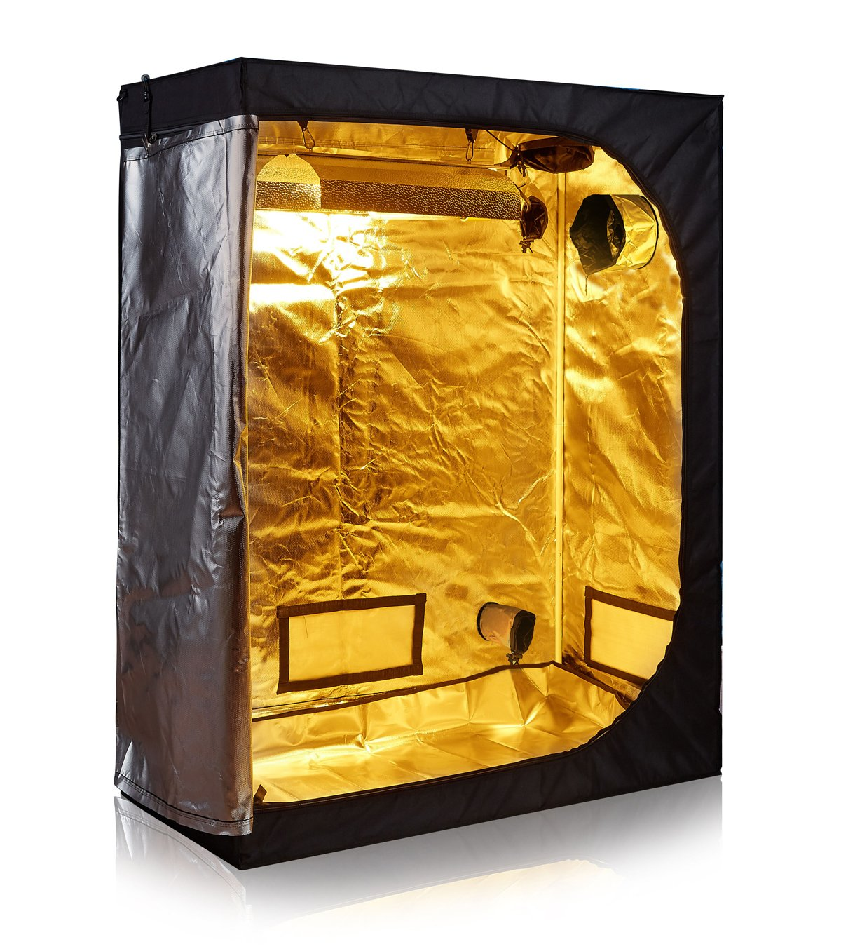TopoLite 2×4 - Reflective Mylar Indoor Grow Tent