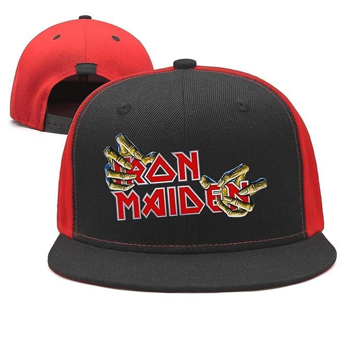 Shihangya Man Iron-Maiden-Heavy-Metal-Band- Snapback hat Trucker Hats 3f28e28210f
