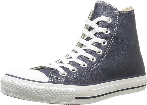 zapatillas altas converse mujer piel