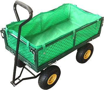Carro de transporte carretilla de mano de jardin construccion max 200kg: Amazon.es: Bricolaje y herramientas
