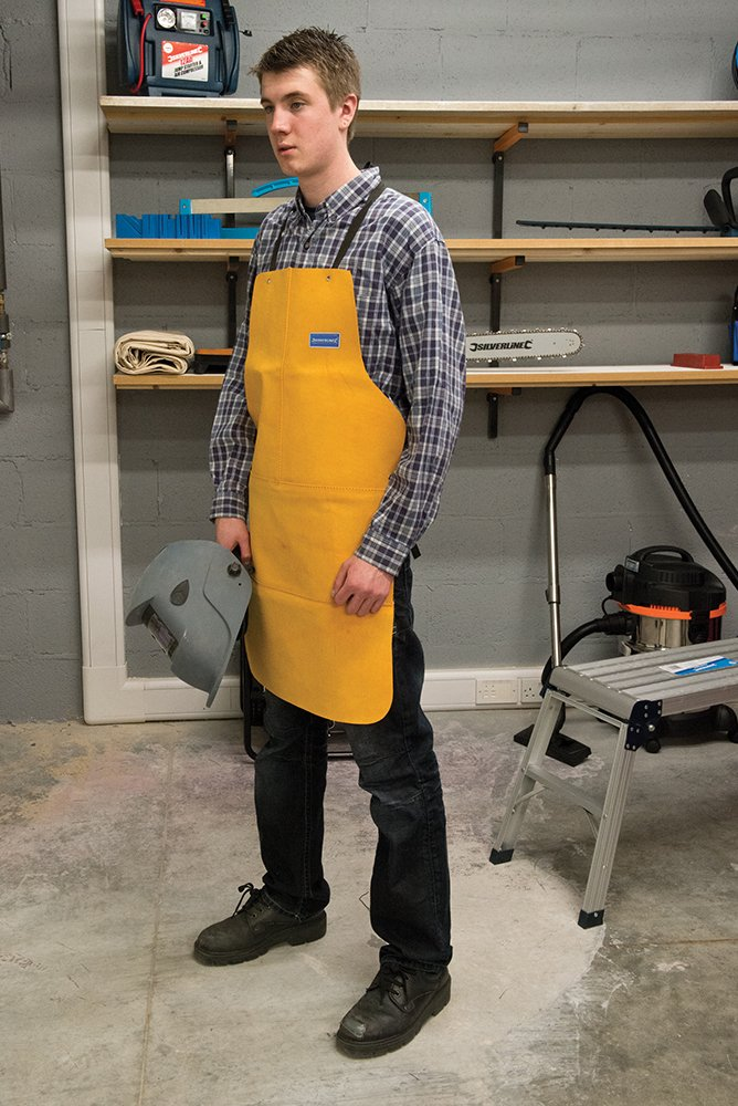 Amazon.com: Silverline 633505 Welders Apron Full Length: Home Improvement