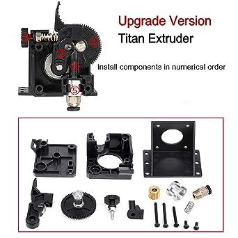 Amazon.com: BZ 3D Titan Extrusor Kit de pieza de ...