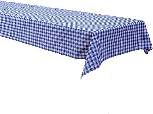 Mantel para mesa de cerveza, a cuadros, 1 x 1 cm, 100 % algodón ...