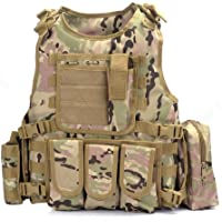 Yakeda® Army-Fans -Chaleco táctico Cs para el aire libre, juego de chaleco cosplay de Counter Strike Vest-322