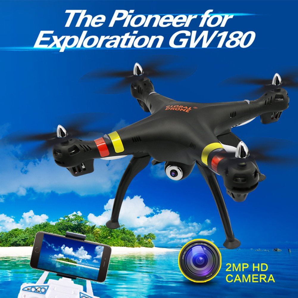 Yiwa GW180 RC Quadrocpter Drone con 4K WiFi HD Camera Helicóptero ...