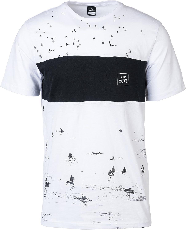 RIP CURL Busy Surf Day tee Camiseta, Hombre: Amazon.es: Ropa y accesorios