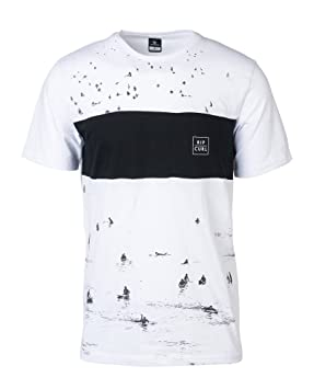 RIP CURL Busy Surf Day tee Camiseta, Hombre, Optical White, XL: Amazon.es: Deportes y aire libre