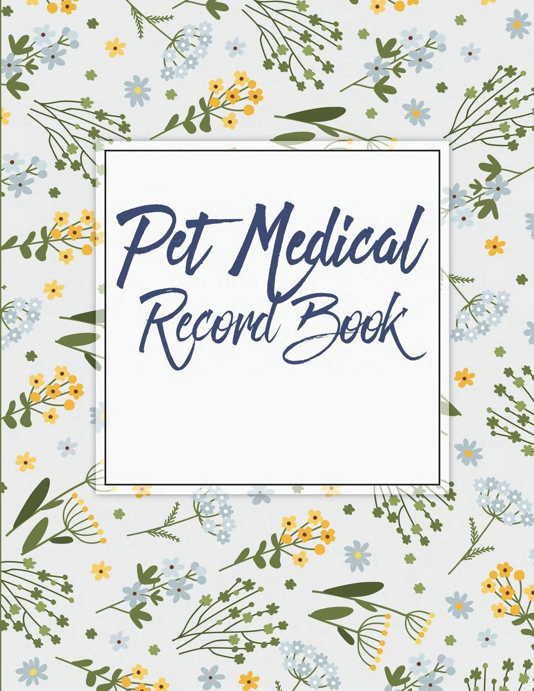 amazon com pet medical record book record your pet health daily