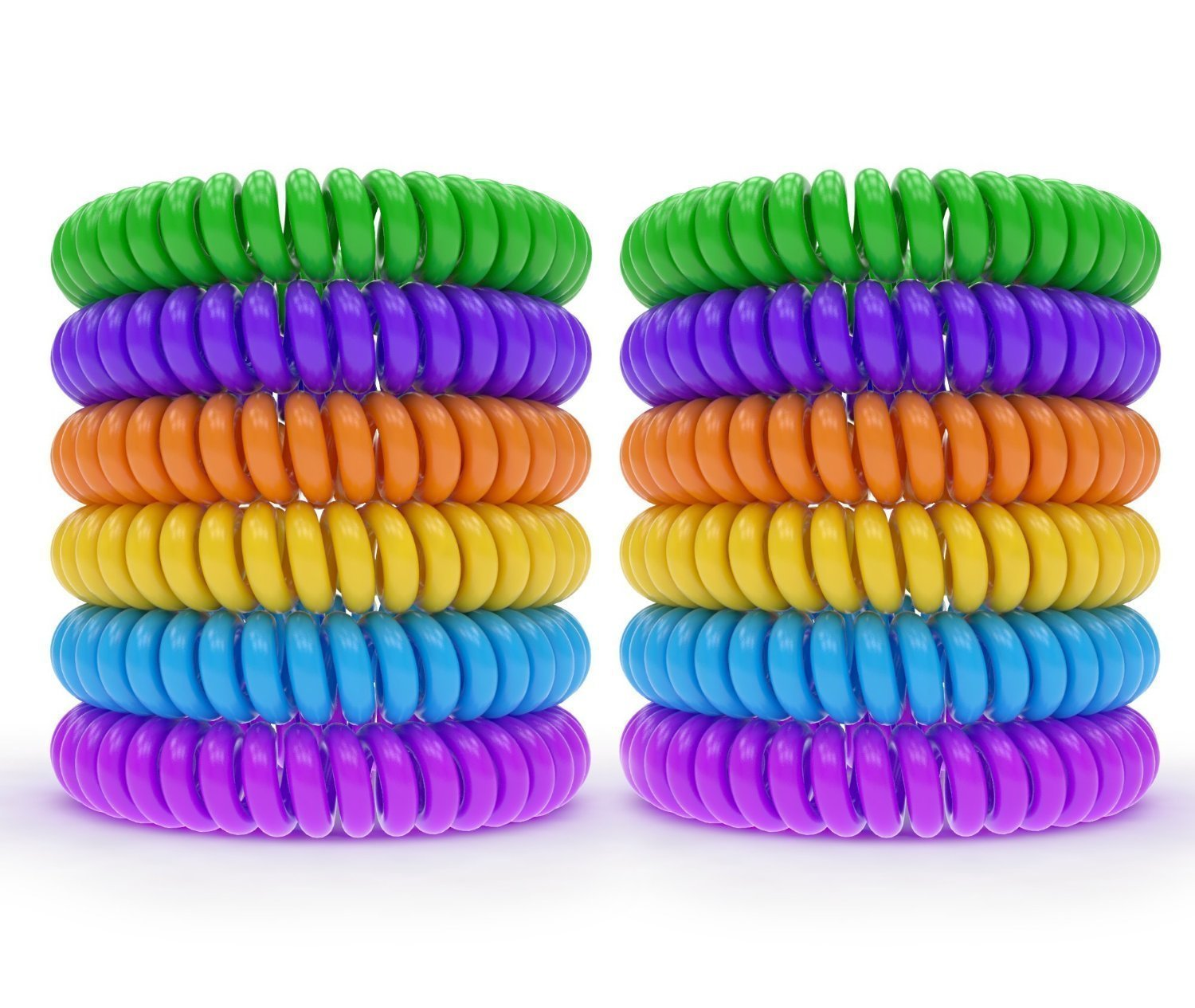 12 Pack Mosquito Repellent Bracelet Band - [320Hrs] of Premium Pest Control Insect Bug Repeller - Natural Indoor/Outdoor Insects - Best Products with NO Spray for Men, Women, Kids, Children by Zekpro (Image #3)