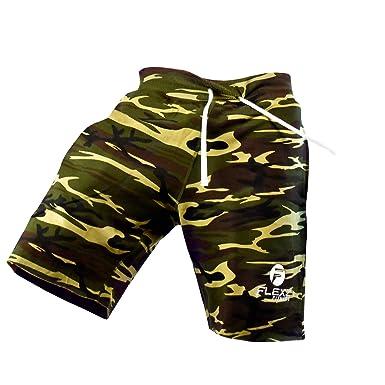 4360a6de4e Flexz Fitness Men's Gym Shorts SweatShorts, Bodybuilding and Exercise,  Durable & Stylish, Camo