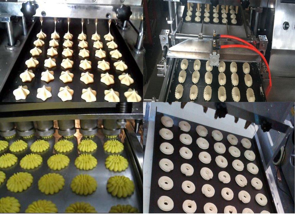 PLC control Cookie Biscuit Maker Panificadora de macarons ...