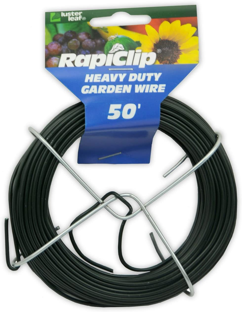Luster Leaf Rapiclip Heavy Duty Garden Wire - 50 Foot Roll 834