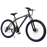 Ancheer 27.5 inch 21 Speed Hybrid Bike Men Seeker Mountain Bike