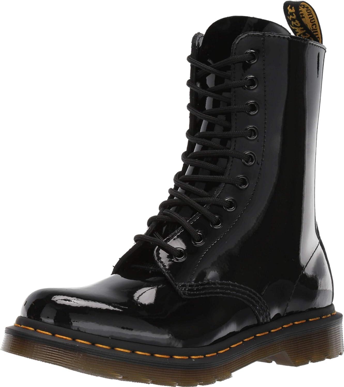 Dr. Martens 1490Z Smooth Black, Botas Unisex