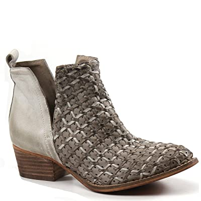 Diba True Struck Gold Leather ankle boot