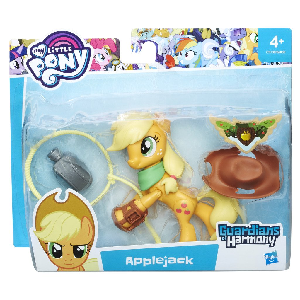 (Applejack)  My Little Pony C0138ES00 Guardians of Harmony Applejack Figure