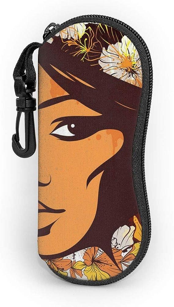Koniqiwa - Estuche para gafas de sol con clip de cinturón para llaves, lápices, tarjetas: Amazon.es: Ropa y accesorios