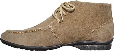 Leder Desert Boots Stiefeletten Schnürschuhe Wildleder schuhe Blau, Beige, Braun & Schwarz, Schuhgröße:41;Frabe:Dunkelbraun