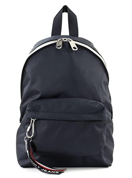 37821abedba TOMMY HILFIGER Jeans Logo Mini Backpack Tommy Navy: Amazon.co.uk ...