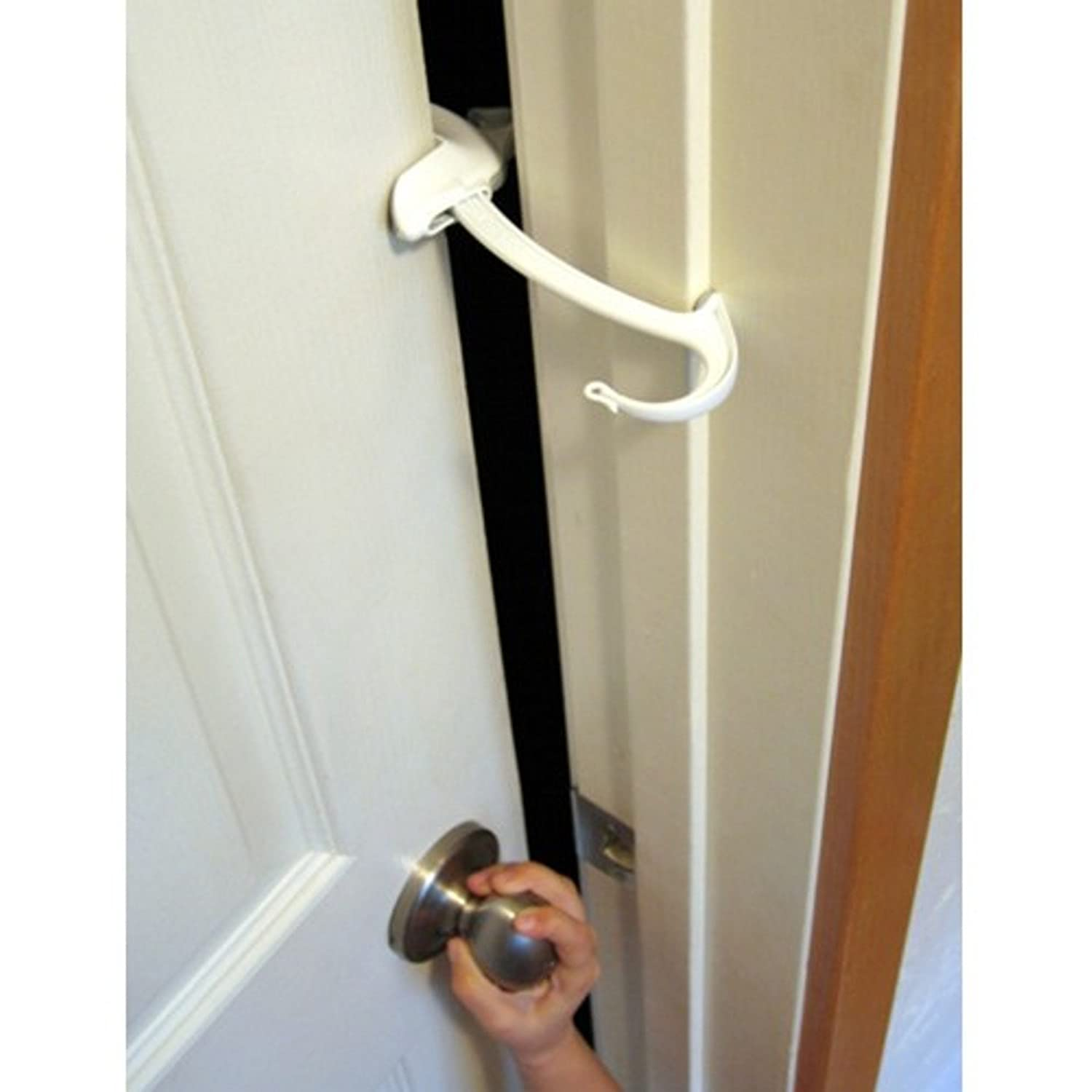 Amazon.com : Door Monkey Door Lock and Pinch Guard : Childrens ...