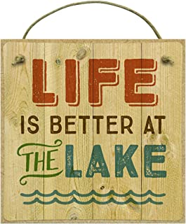 product image for Imagine Design Life is Better at The Lake Magnet, Multi