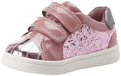 reich und großartig das Neueste heiße Angebote Geox Baby Girls B Djrock E Low-Top Sneakers, Pink (Dk C8006 ...