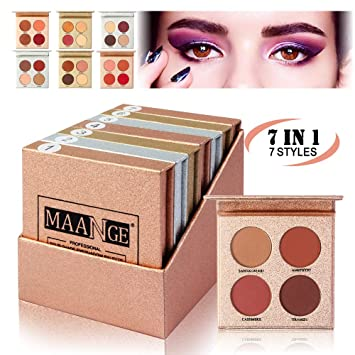 Beauty & Health Strict Blueness 2 Color 3 Designs Natural Makeup Eyeshadow Concealer Palette Waterproof Long Lasting Eye Face Makeup Set