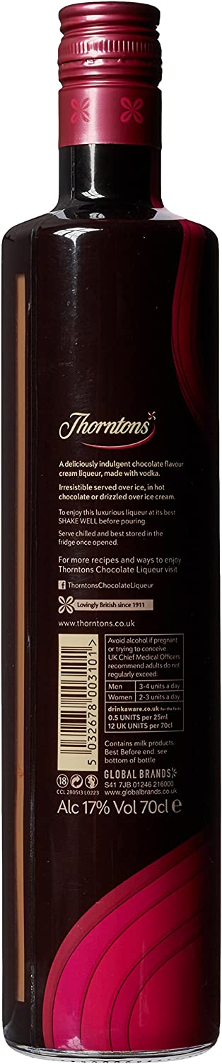 Thorntons Chocolate Liqueurs 70 Cl
