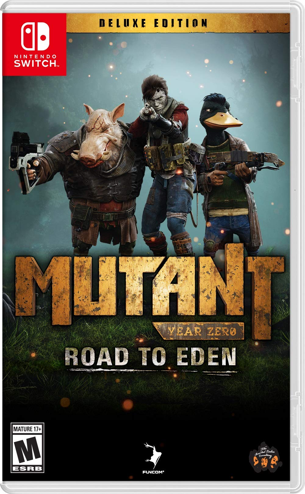 Mutant Year Zero: Road to Eden Deluxe Edition (NSW) - Nintendo Switch
