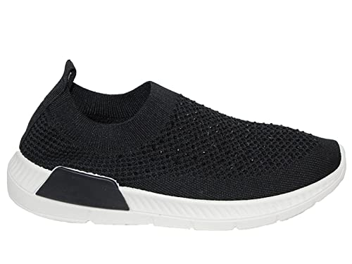 Foster Footwear - Zapatillas de Lona para Mujer, Color Negro, Talla 8 UK: Amazon.es: Zapatos y complementos
