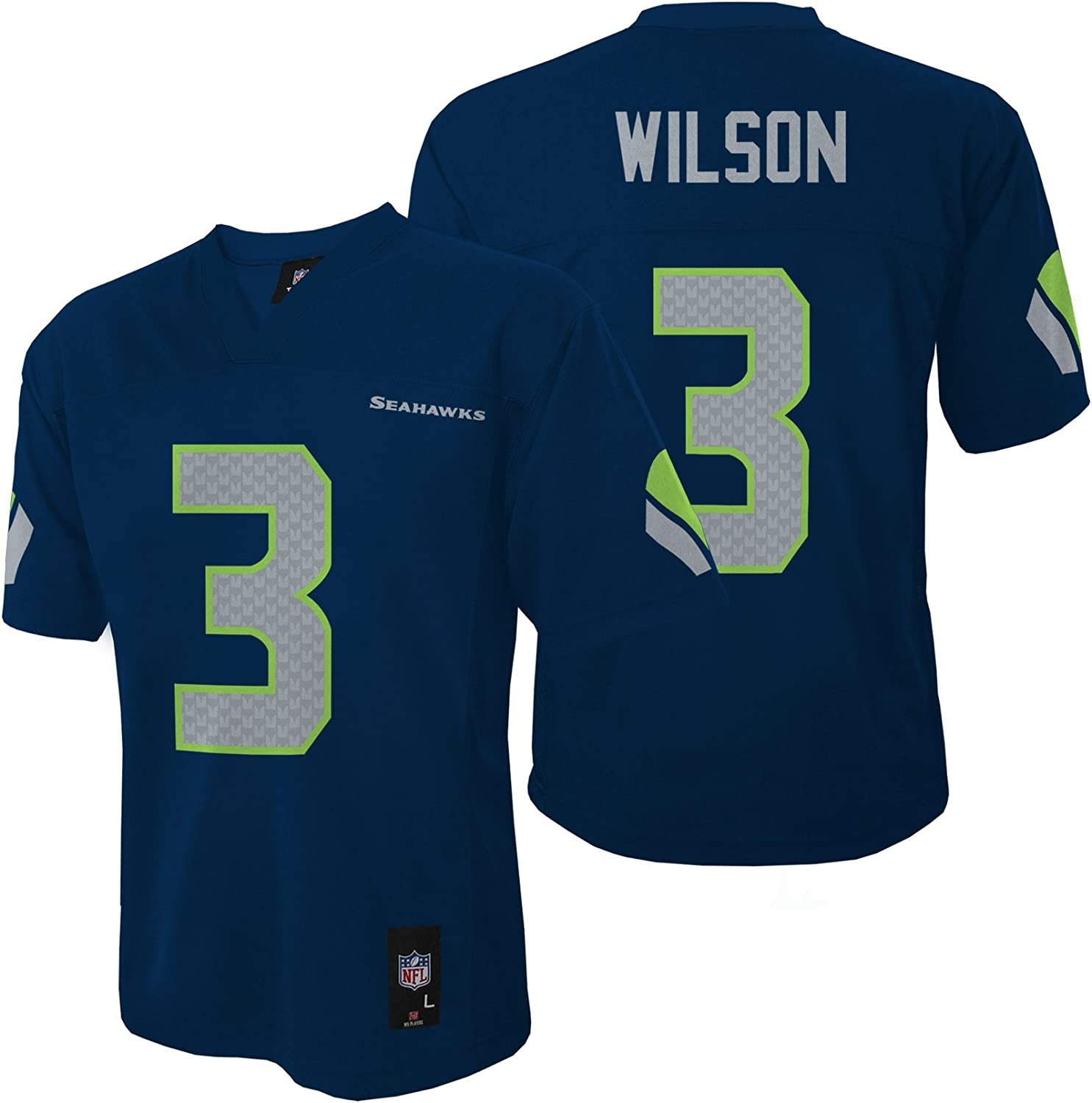NFL Youth Boys 8-20 Russell Wilson Seattle Seahawks Boys -Player ...