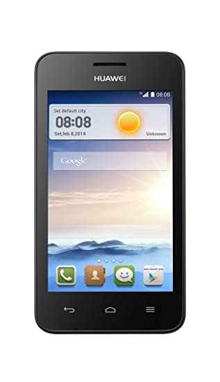Huawei Ascend Y330 (Genuine UK Stock) Sim Free Smartphone - Black (4 inch,  1 3GHz dual core, 3 2mp camera, MicroSD up to 32GB)