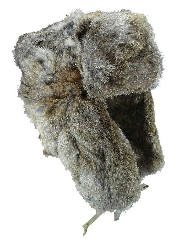 Echte Fellmütze aus Kaninchen Fell!