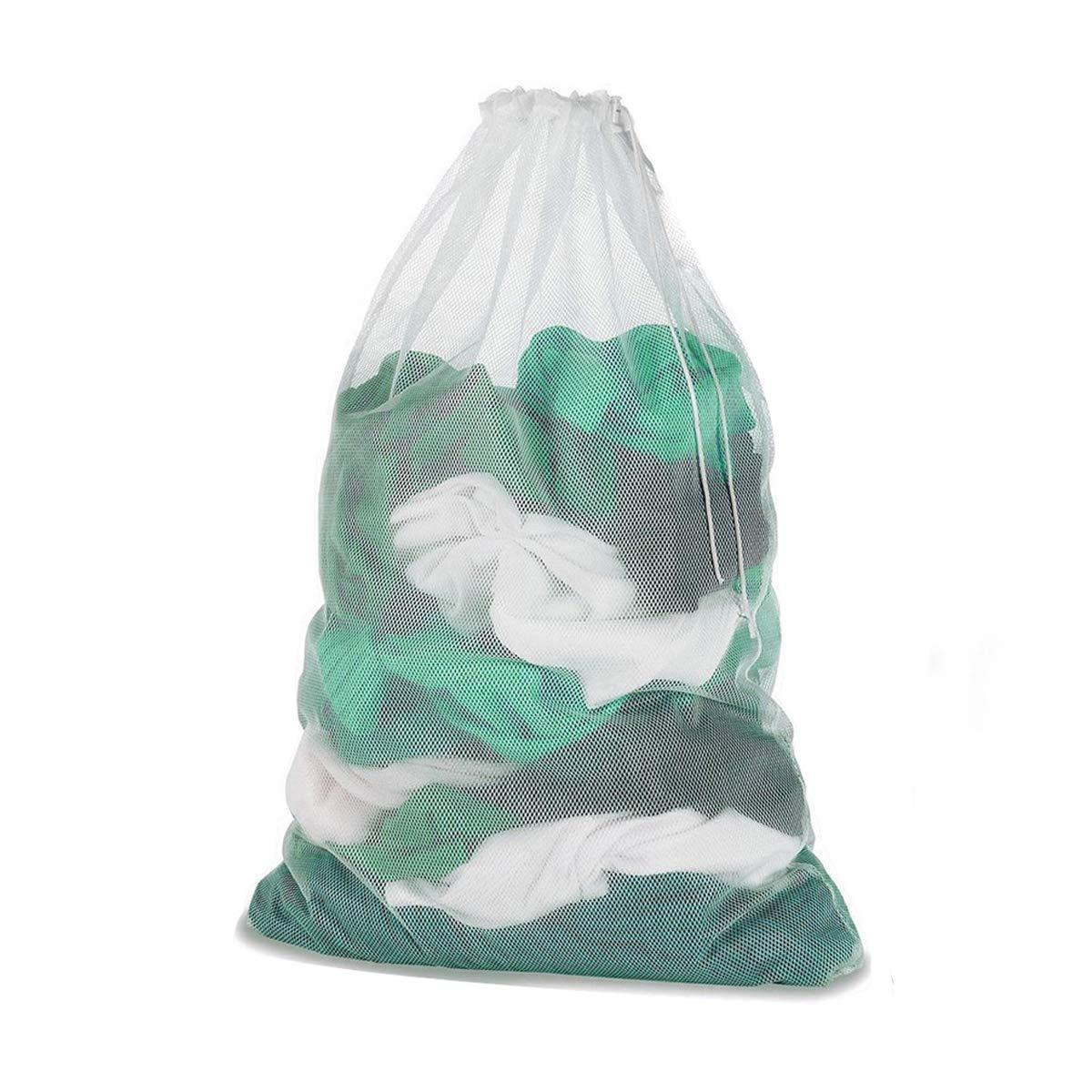 Laundry Bag ,Mesh Washing Clothes Bags - For Washing Machines - 60x90 cm(23.62