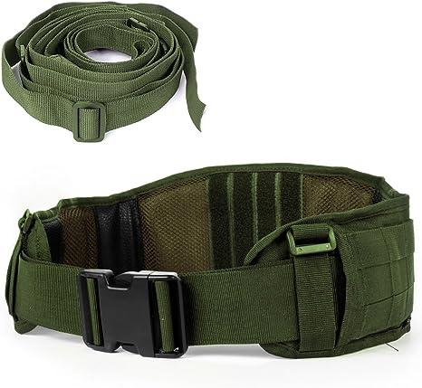 LUUFAN Cinturón táctico Mille Cinturón Resistente de Trabajo ...