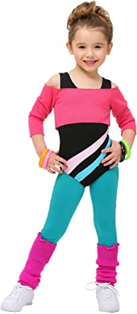 Brand New 80s Work Out Aerobics Video Lady Adult Costume