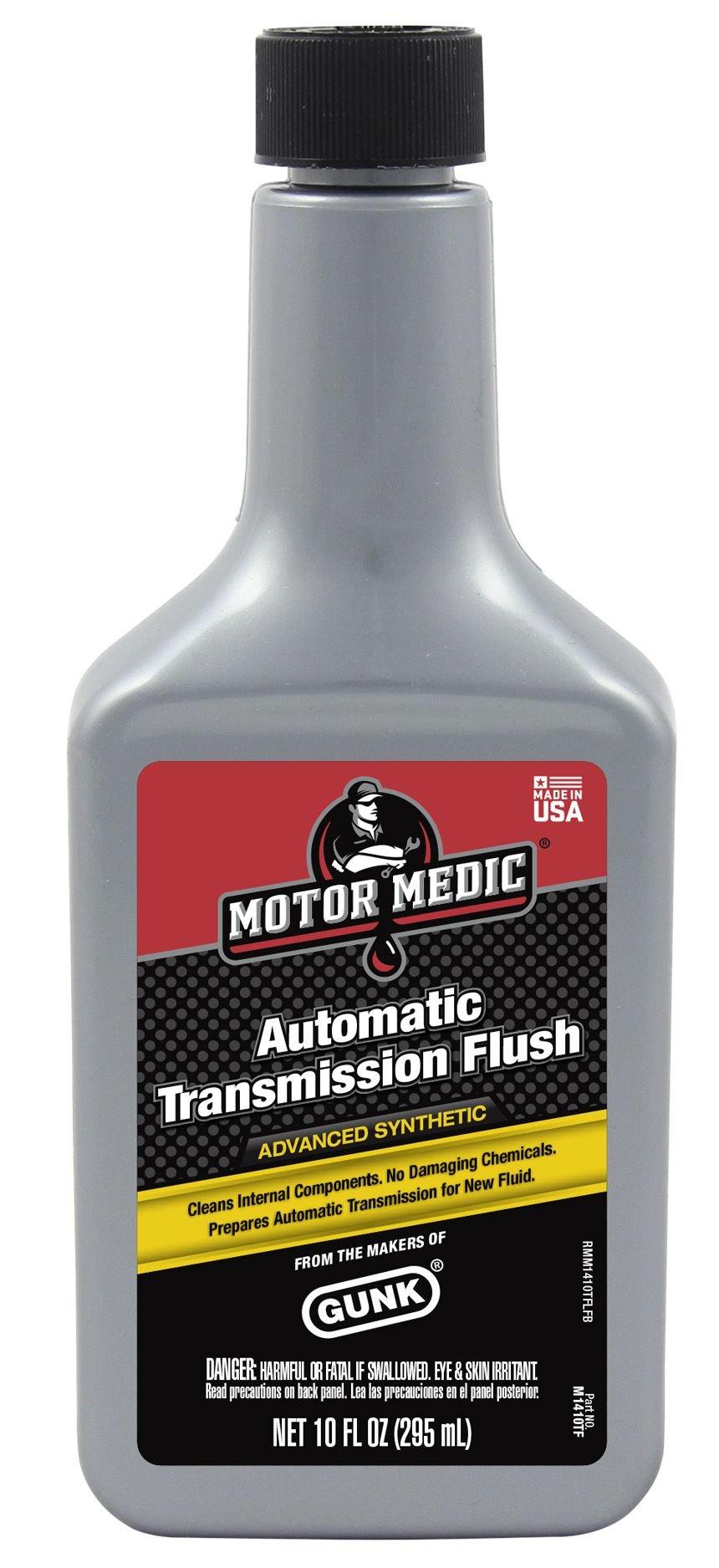 Niteo Motor Medic M1410TF-12PK Synthetic Automatic Transmission Flush - 10 oz, (Case of 12) by Niteo