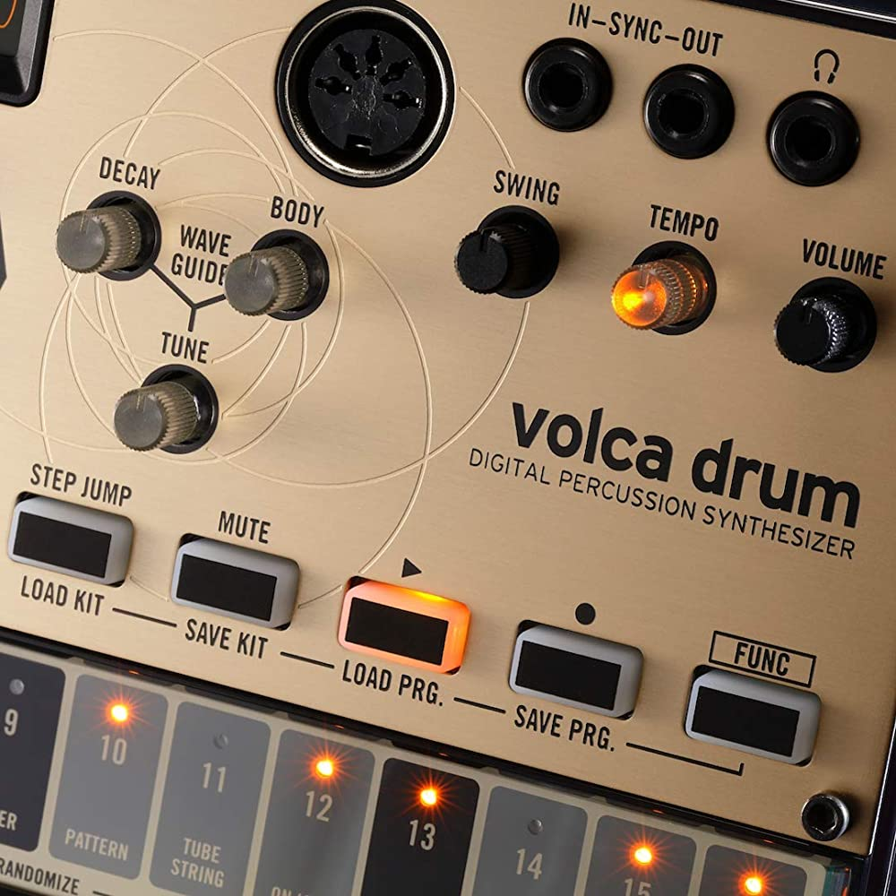 volca drum:コントロール